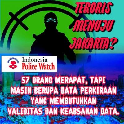 Polri Pastikan Belum Ada Informasi Masuknya Teroris ke Ibukota