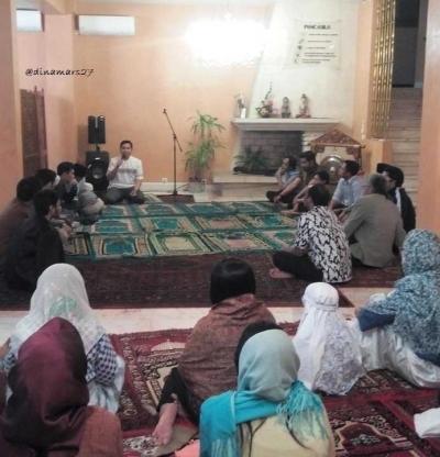 Menikmati Santap Buka Bersama Warga Indonesia di Marseille