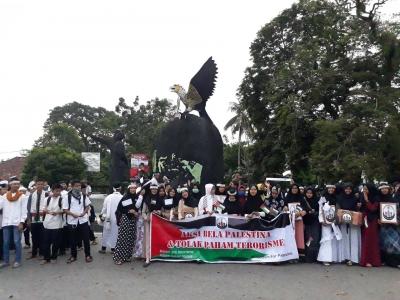 Formus Babar Gelar Aksi Damai Bela Palestina dan Kecam Tindakan Terorisme