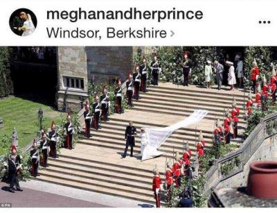 Pernikahan Pangeran Harry dan Meghan seperti Cerita Dongeng