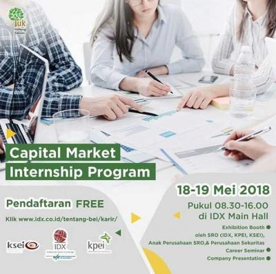 Sehari di Capital Market Internship Fair 2018