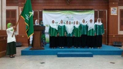 Bukti Cinta IPPNU Jakarta Barat kepada Pelajar NU