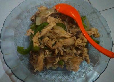 Resep Sahur yang Praktis dan Bergizi, Ayam Tumis Paprika