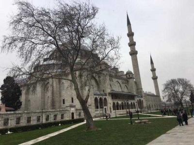 Naik-naik ke Puncak Bukit di Istanbul, Ketemunya Masjid Sulaimaniyeh