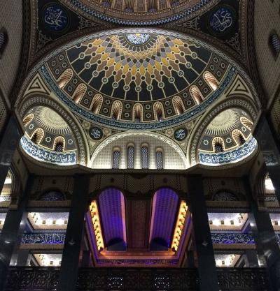 Kemegahan Masjid di Malang ini Mirip Hagia Sophia di Turki