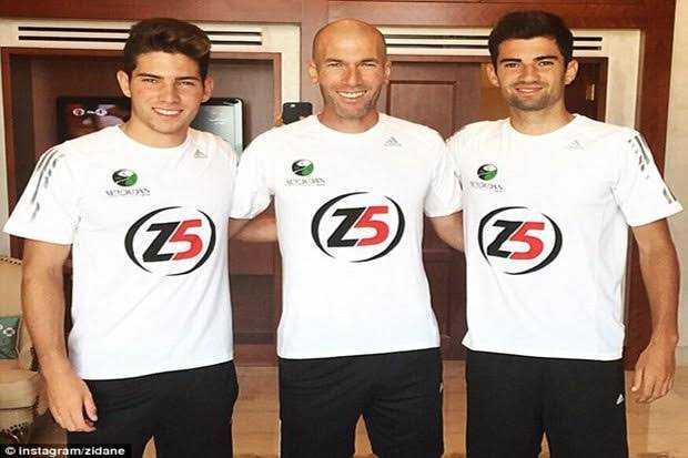 Beda Nasib Dua Zidane
