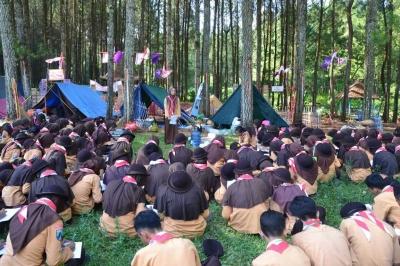 Gelar Smaring Scout Challenge 2018, Pramuka SMAN 1 Cluring Tumbuhkan Kreativitas dan Jiwa Nasionalisme