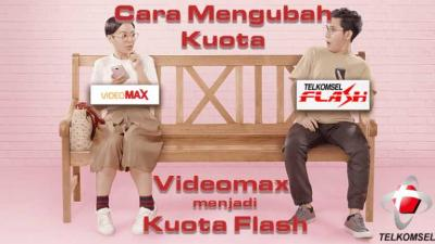 Cara Terbaru Mengubah Kuota VideoMAX menjadi Kuota Flash dengan AnonyTun