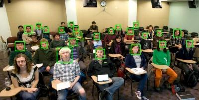 Deteksi Wajah pada Murid Saat Belajar di Kelas