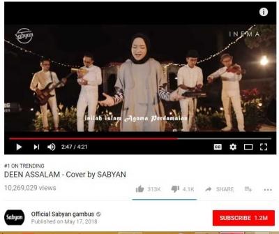 Lagu Deen Assalam yang Menyatukan Kita