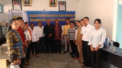 Pemdes Napatalun Parlambuken Gelar Pelatihan KPMD