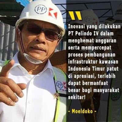 Moeldoko: Inovasi PT Pelindo IV Percepat Pembangunan Indonesia Timur