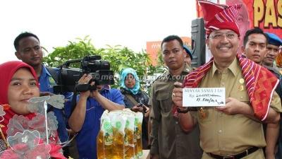 Apresiasi Pasar Murah Ala Pemerintah Kota Medan