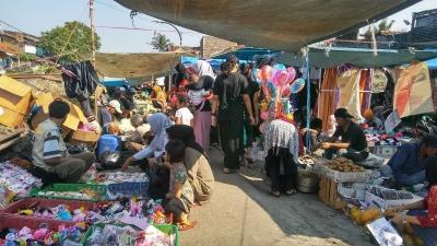Pasar Nonggeng yang Semakin Maju