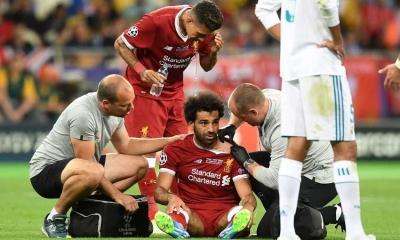 Inilah Kabar Terakhir Salah Setelah Cedera Bahu oleh Sergio Ramos