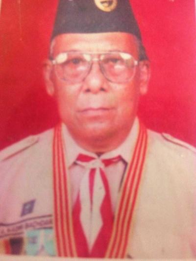 Kadir Bachdar, 84 Tahun Menginspirasi Pramuka Banyuwangi