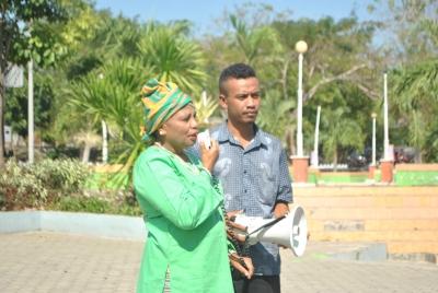 Yayasan Taim Hine Aleta Sumbang untuk Taman Nostalgia Kupang