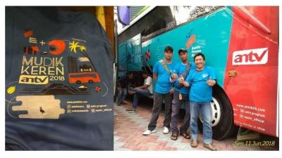ANTV Konsisten Bikin Mudik Gratis untuk Karyawan