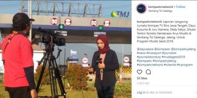 Wartawan Jelang Lebaran,