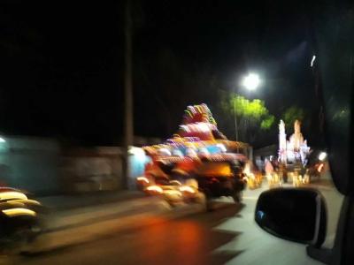 Sepanjang Jalan Raya Sayung-Demak, Malam Lebaran Meriah Takbir Keliling dan Pesta Kembang Api