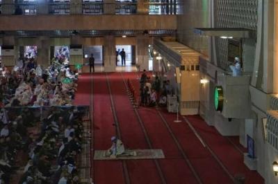 Khotbah Shalat Id di Masjid Istiqlal, Aa Gym Singgung Korupsi