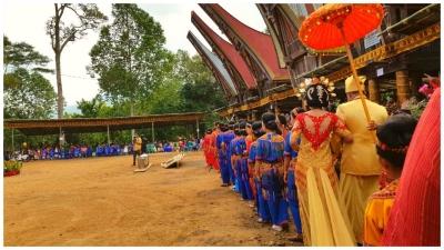 Uniknya Acara Pernikahan Adat Toraja (Bagian 1)