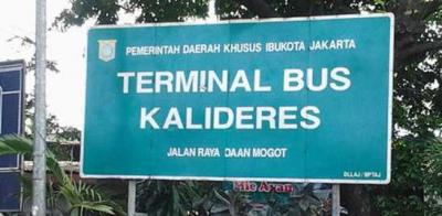 Puncak Arus Balik di Terminal Kalideres Jakarta Barat Diperkirakan Pada Rabu dan Kamis