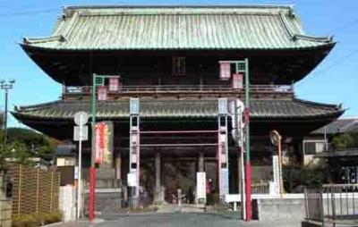 Gerbang Nio-Mon, Menuju Nakayama Hokekyo-ji Temple