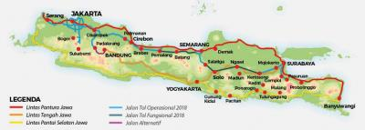 Berlebaran lewat Tol Trans Jawa