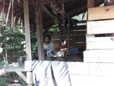 Aktivis PMII Mengharapkan Uluran Tangan untuk Ibu Kama