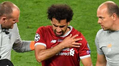 Berapa Lama Waktu Ideal Pemulihan Cedera Bahu Mohamed Salah?