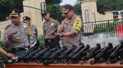 Polisi Cek Kesiapan Pengamanan Jelang Pilgub Kalbar 2018