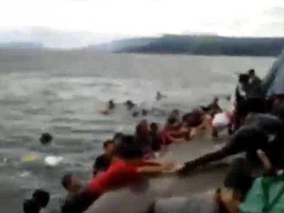 Ini Detik-detik Kapal Sinar Bangun Tenggelam