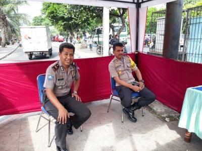 Jelang Arus Balik, Kapolsek Cengkareng Cek ke Pos-pos pengamanan