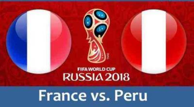 Live Streaming Prancis vs Peru
