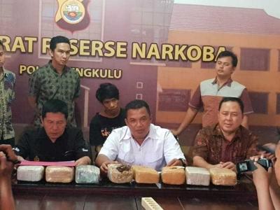 Wadir Narkoba Polda Bengkulu: Jangan Coba-coba Bermain di Wilayah Kami