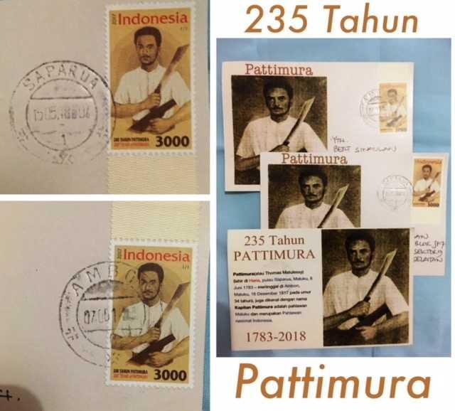 Kartu Pos, Prangko, dan Cap Pos Pattimura, 200 atau 235 Tahun?