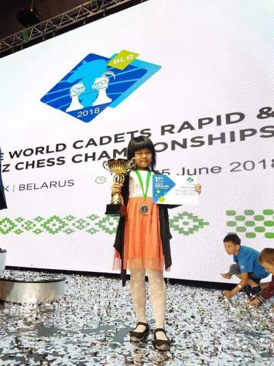 Anak Ajaib Indonesia Raih Juara Dunia Catur Cepat di Belarus