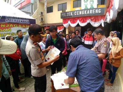 Polsek Cengkareng Adakan Sarapan bersama dan Layanan SKCK Gratis dalam Rangka HUT Bhayangkara ke-72