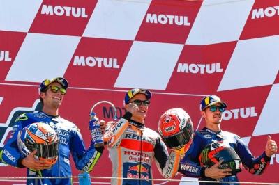 Panasnya MotoGP Assen Belanda dan Rossi Gagal Podium