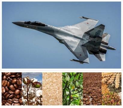 """Pemerintah Indonesia """"Main Cantik"""", Imbal Beli Sukhoi dengan Komoditas Pertanian"""