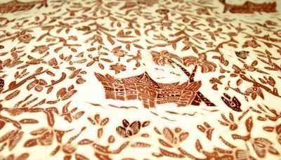 Kain Batik Padang yang Memukau Nusantara