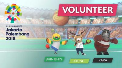 Proses Pemilihan Volunteer Asian Games 2018