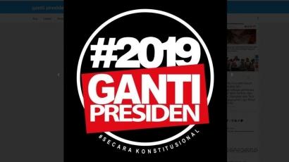 "Komodifikasi Tagar ""2019 Ganti Presiden"""