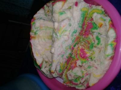 Cara Membuat Kue Unik, Kue Gunung Meletus
