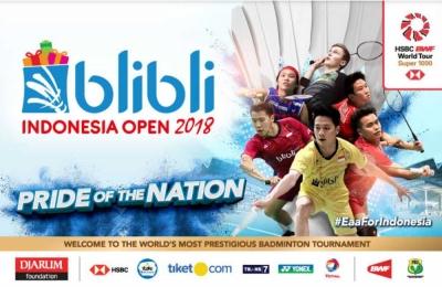 Indonesia Open 2018, Gugurnya Wakil Tuan Rumah dan Rivalitas Terhadap Jepang