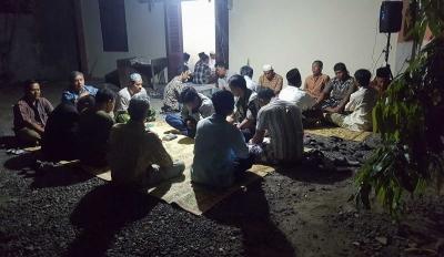 Di Klaten, Warga Non-Muslim Ikut Pengajian Tahlilan