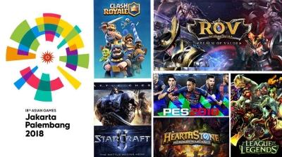 """Electronic Sports"" akan Dimainkan di Asian Games 2018"