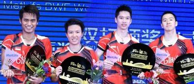 Pastikan Dua Wakil di Final Indonesia Open 2018