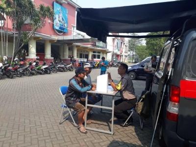 Polsek Ciledug Mengadakan Giat Mobil Pelayanan Masyarakat Keliling